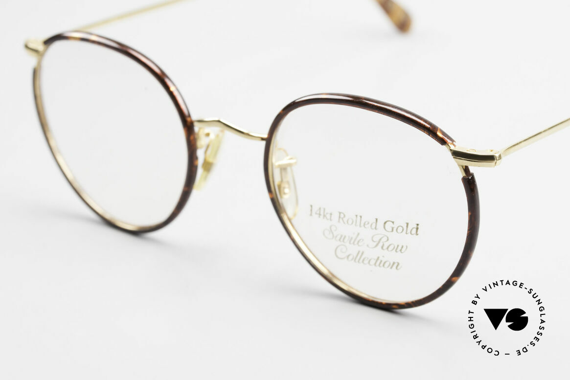 Savile Row Panto 49/20 Johnny Depp Glasses Panto, unworn, in size 49/20; with original DEMO lenses, Made for Men