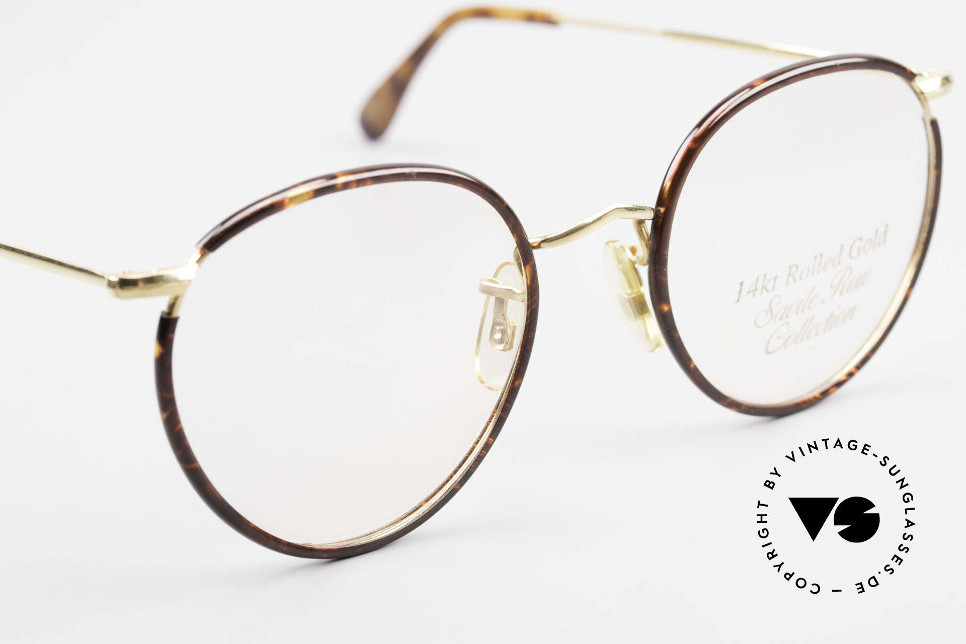 """Savile Row Panto 49/20 Johnny Depp Glasses Panto, worn by famous JOHNNY DEPP (""""The Ninth Gate""""), Made for Men"""