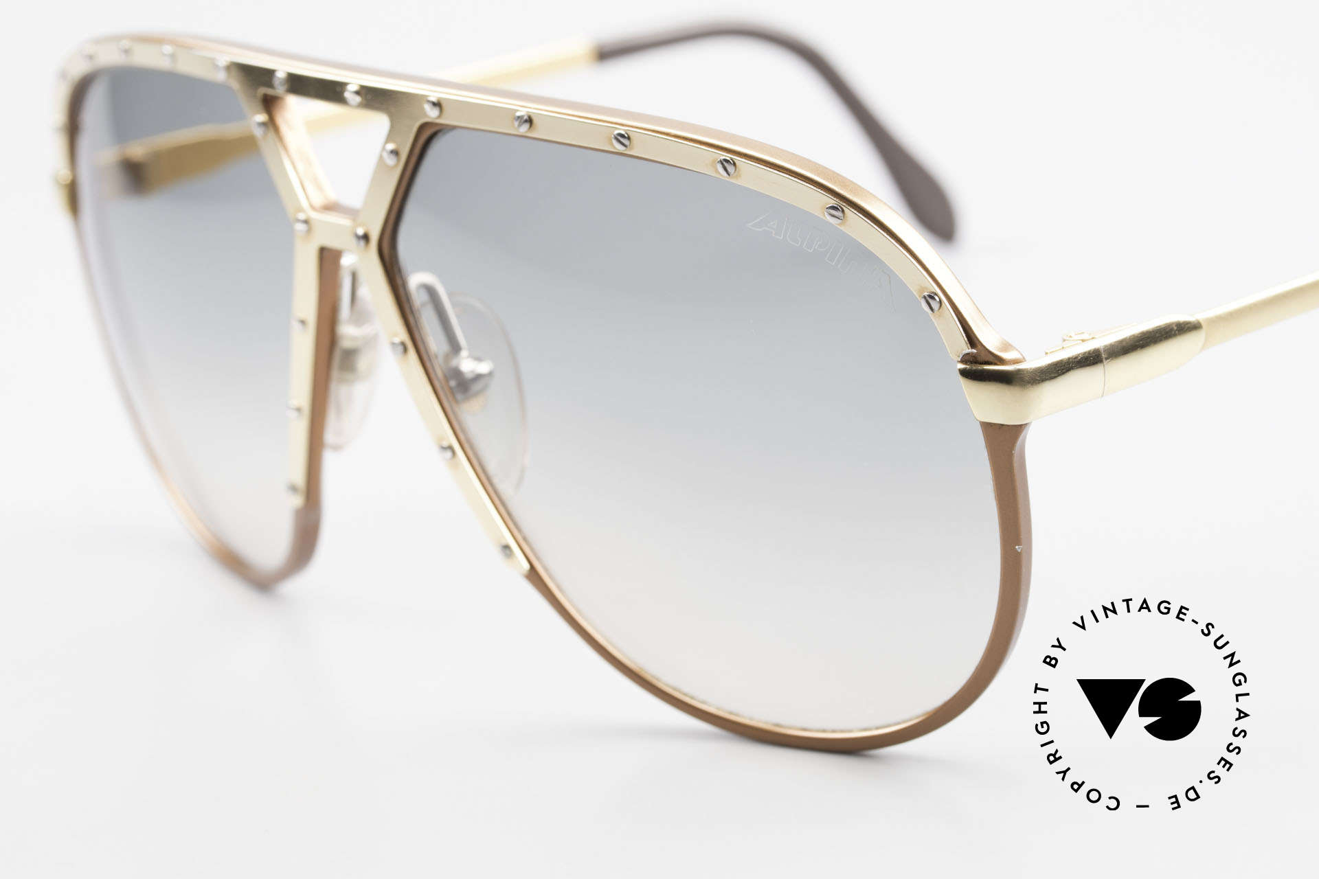 Alpina M1 Iconic 80's Shades XL Hip Hop, handmade (West Germany) in LARGE size 64-14, Made for Men
