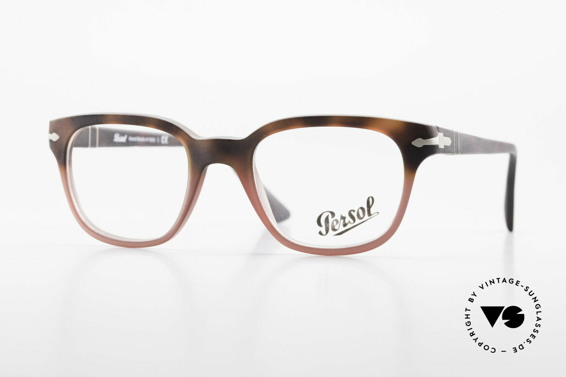Persol 3093 Unisex Glasses Classic Frame, Persol glasses, mod. 3093 in SMALL size 48/20, Made for Men and Women