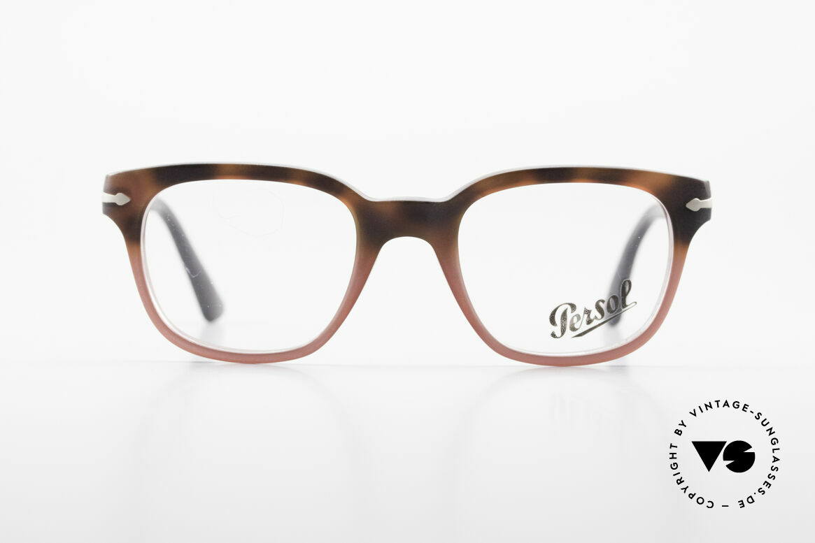 Persol 3093 Unisex Glasses Classic Frame, classic timeless design and best craftsmanship, Made for Men and Women