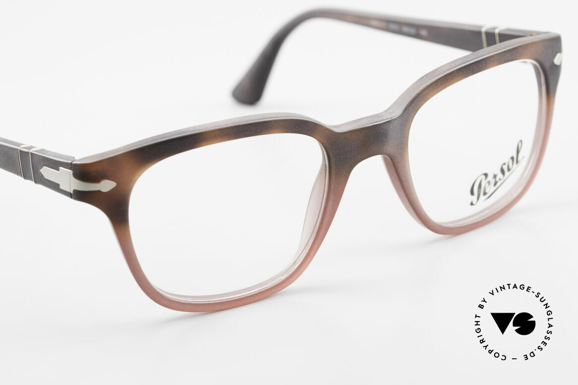 Persol 3093 Unisex Glasses Classic Frame, DEMOS can be replaced with lenses of any kind, Made for Men and Women