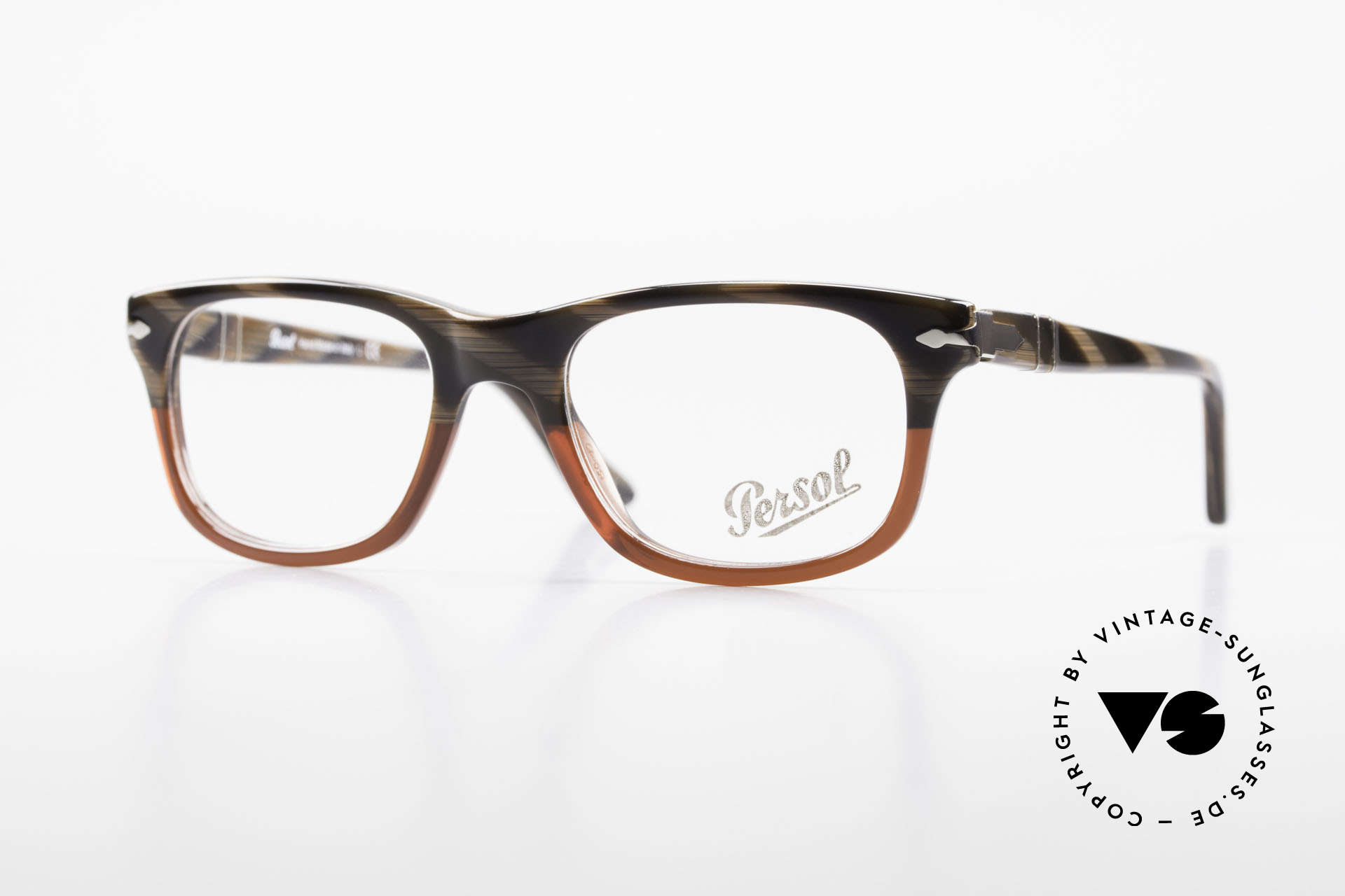 Persol 3029 Small Persol Eyeglasses Unisex, Persol glasses, mod. 3029 in SMALL size 50/19, Made for Men and Women
