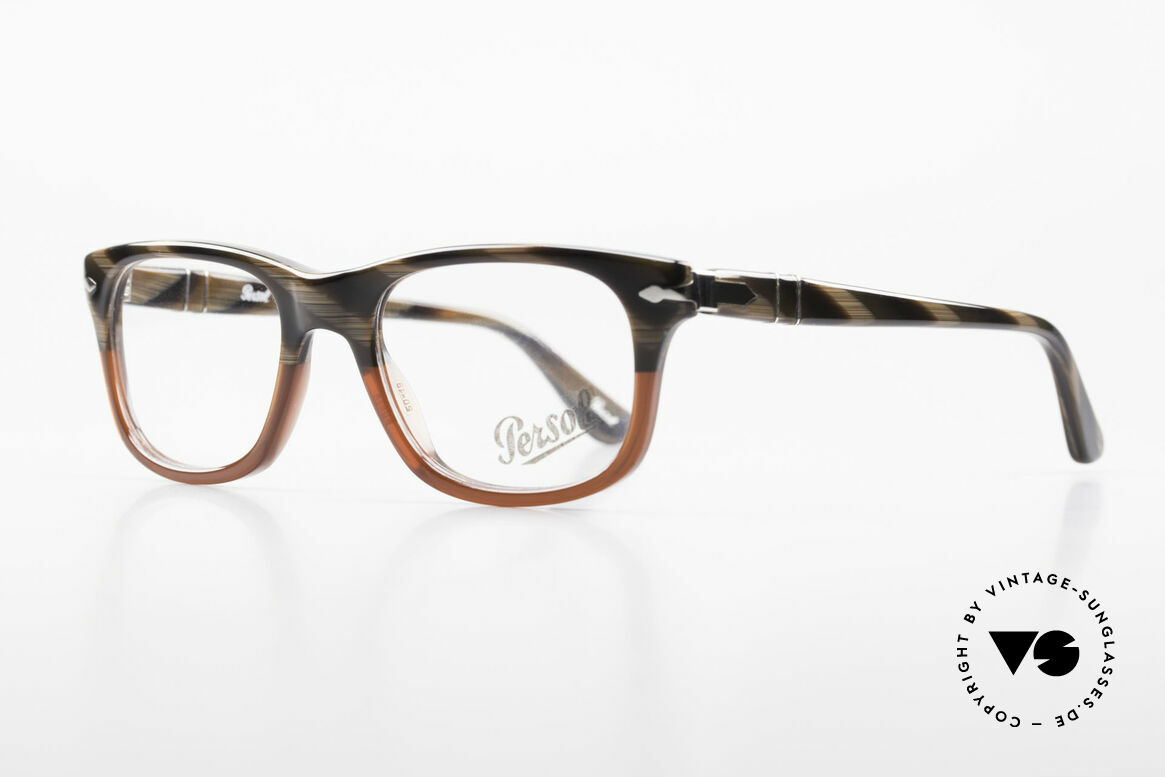 Persol 3029 Small Persol Eyeglasses Unisex, unworn (like all our classic PERSOL eyeglasses), Made for Men and Women