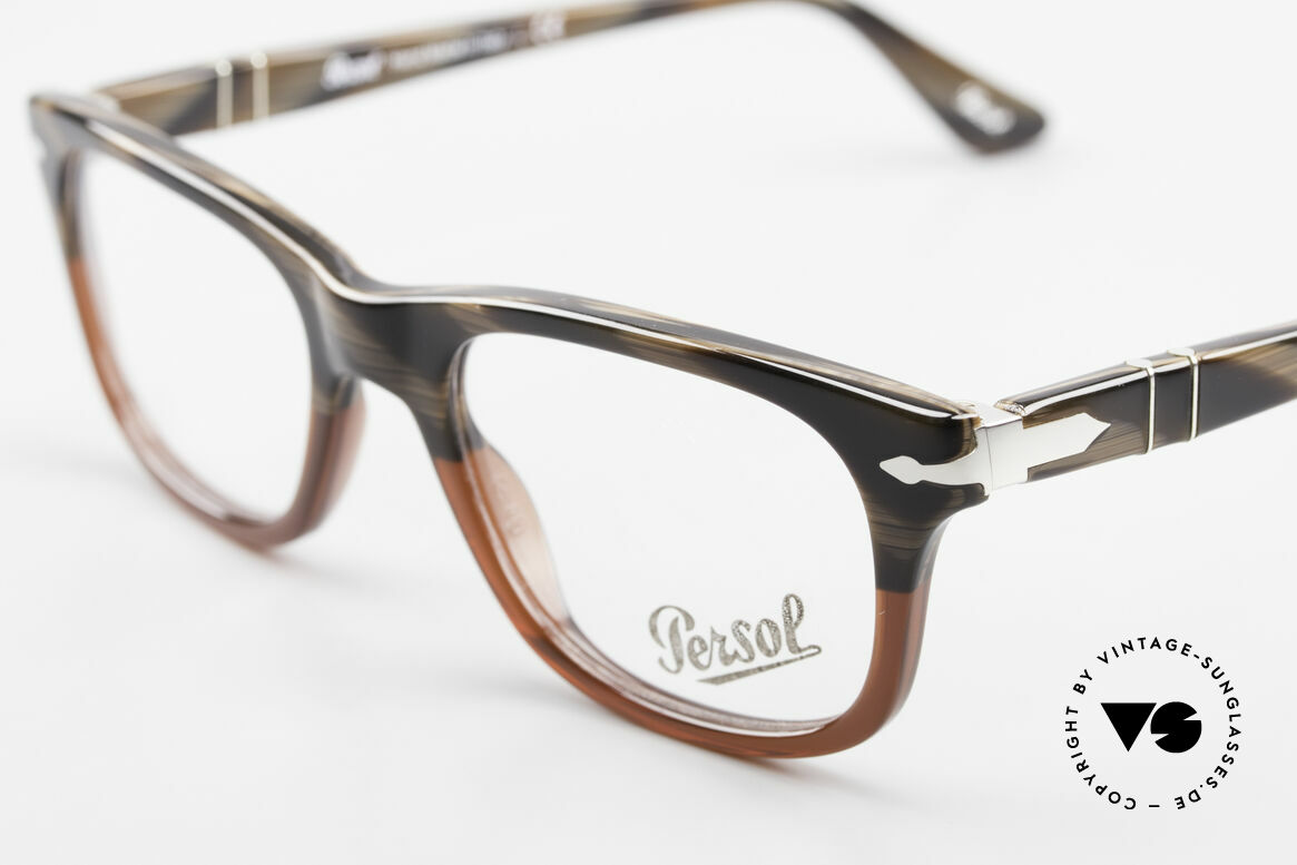 Persol 3029 Small Persol Eyeglasses Unisex, reissue of the old vintage Persol RATTI models, Made for Men and Women