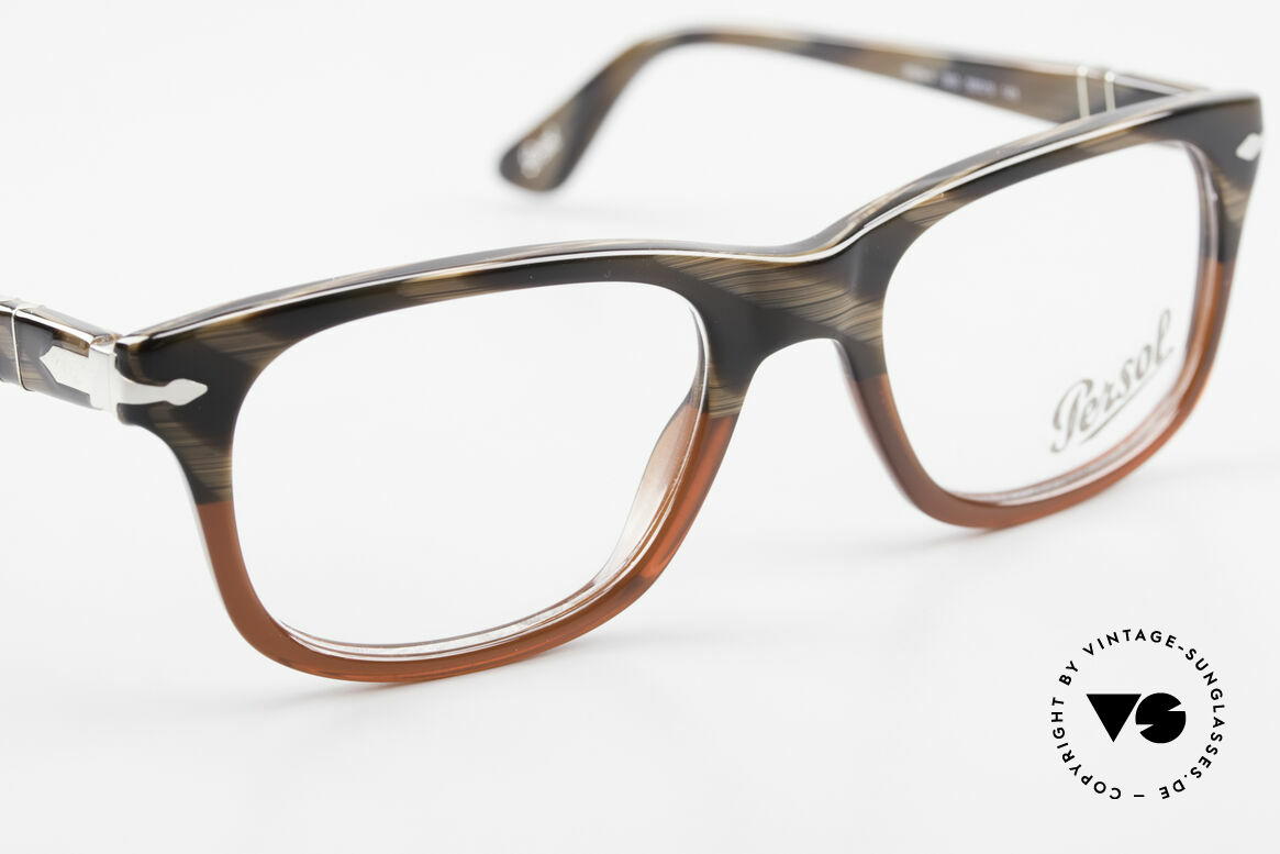 Persol 3029 Small Persol Eyeglasses Unisex, DEMOS can be replaced with lenses of any kind, Made for Men and Women