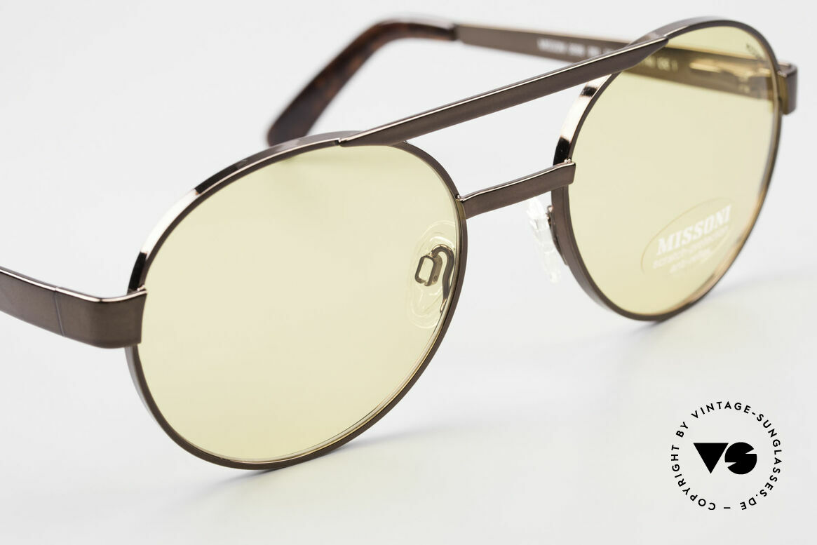 Missoni 0099 Round Panto 90's Sunglasses, never worn (like all our vintage shades by MISSONI), Made for Men