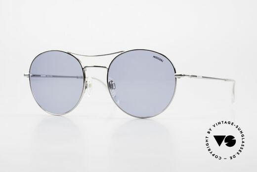 Missoni 0439 Round Aviator 90's Sunglasses Details