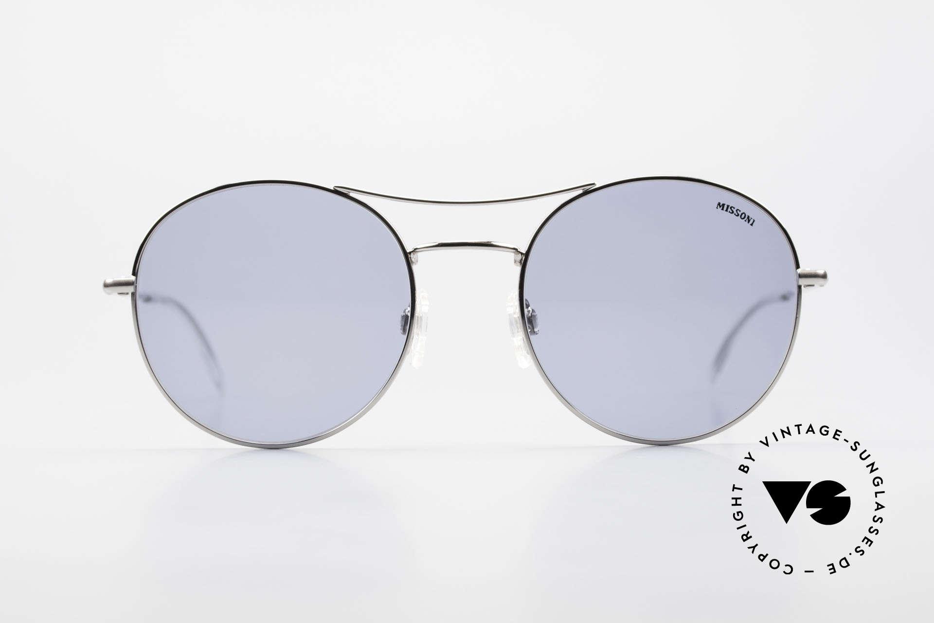 Missoni 0439 Round Aviator 90's Sunglasses, extraordinary 90's round aviator sunglasses, unisex, Made for Men and Women