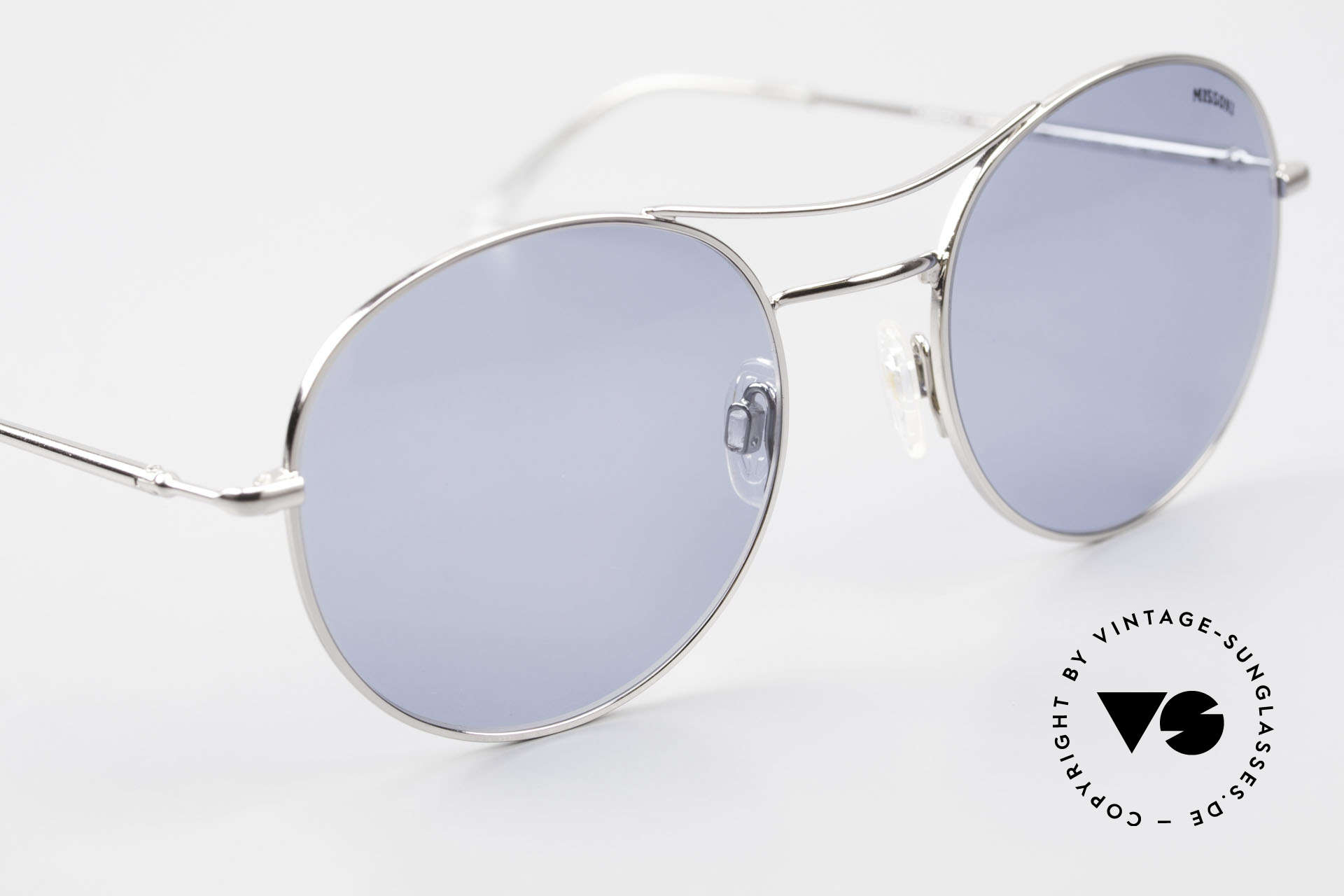Missoni 0439 Round Aviator 90's Sunglasses, never worn (like all our vintage shades by MISSONI), Made for Men and Women