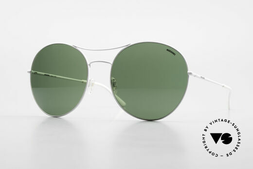 Missoni 0440 Oversized Aviator Sunglasses Details