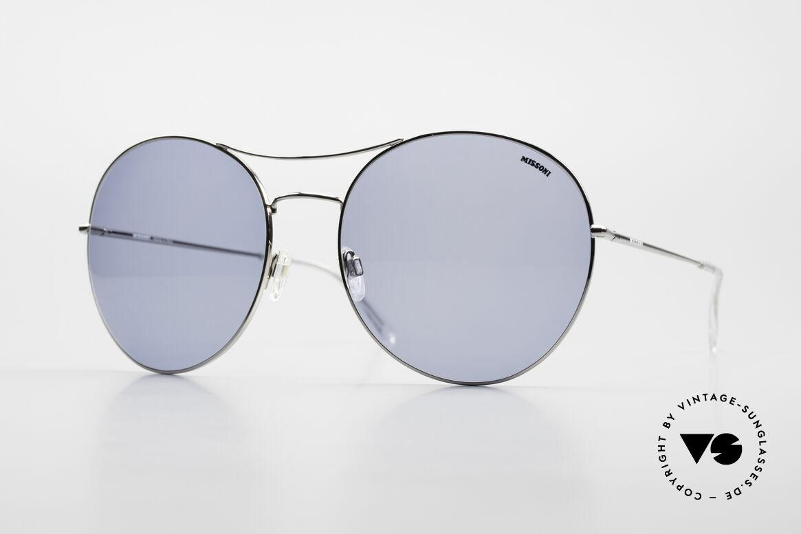 Missoni 0440 Huge XXL Aviator Sunglasses, HUGE 0440 Missoni XXL sunglasses, size 67-20, 135, Made for Men and Women