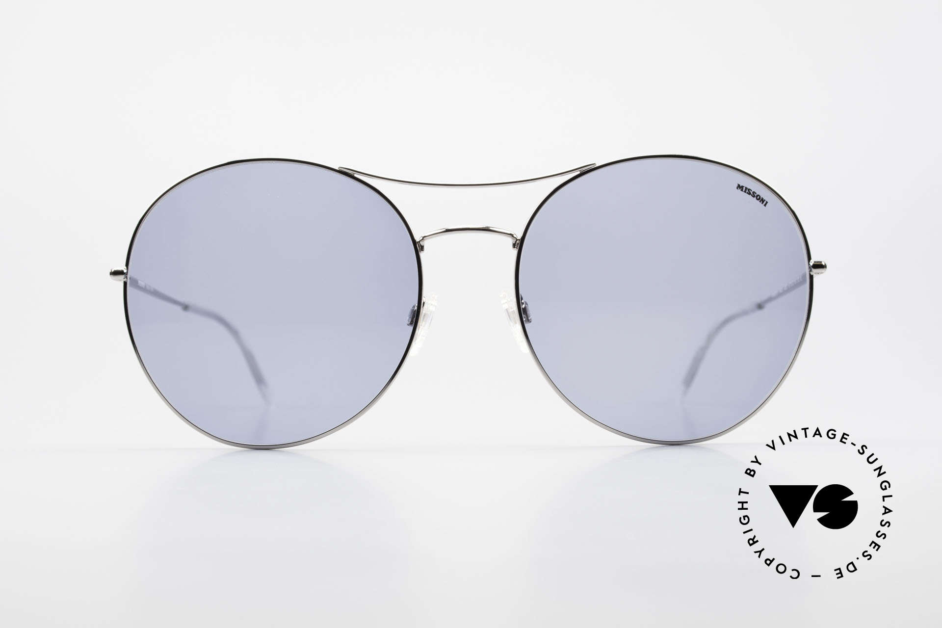 Missoni 0440 Huge XXL Aviator Sunglasses, 90s oversized aviator sunglasses, 64mm frame height, Made for Men and Women