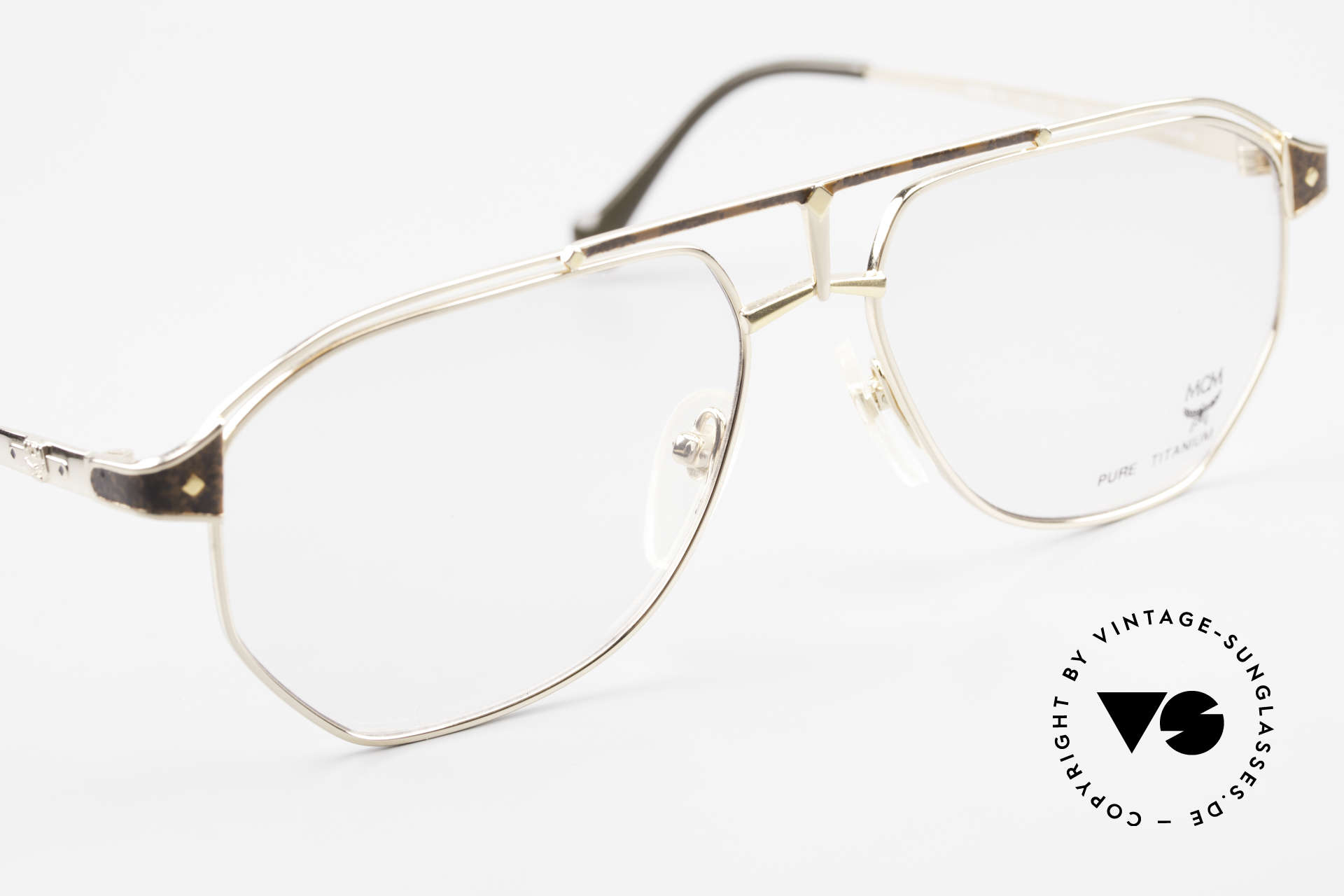 MCM München 6 XL 90's Luxury Vintage Glasses, luxury Michael Cromer (MC), Munich (M) eyeglasses, Made for Men