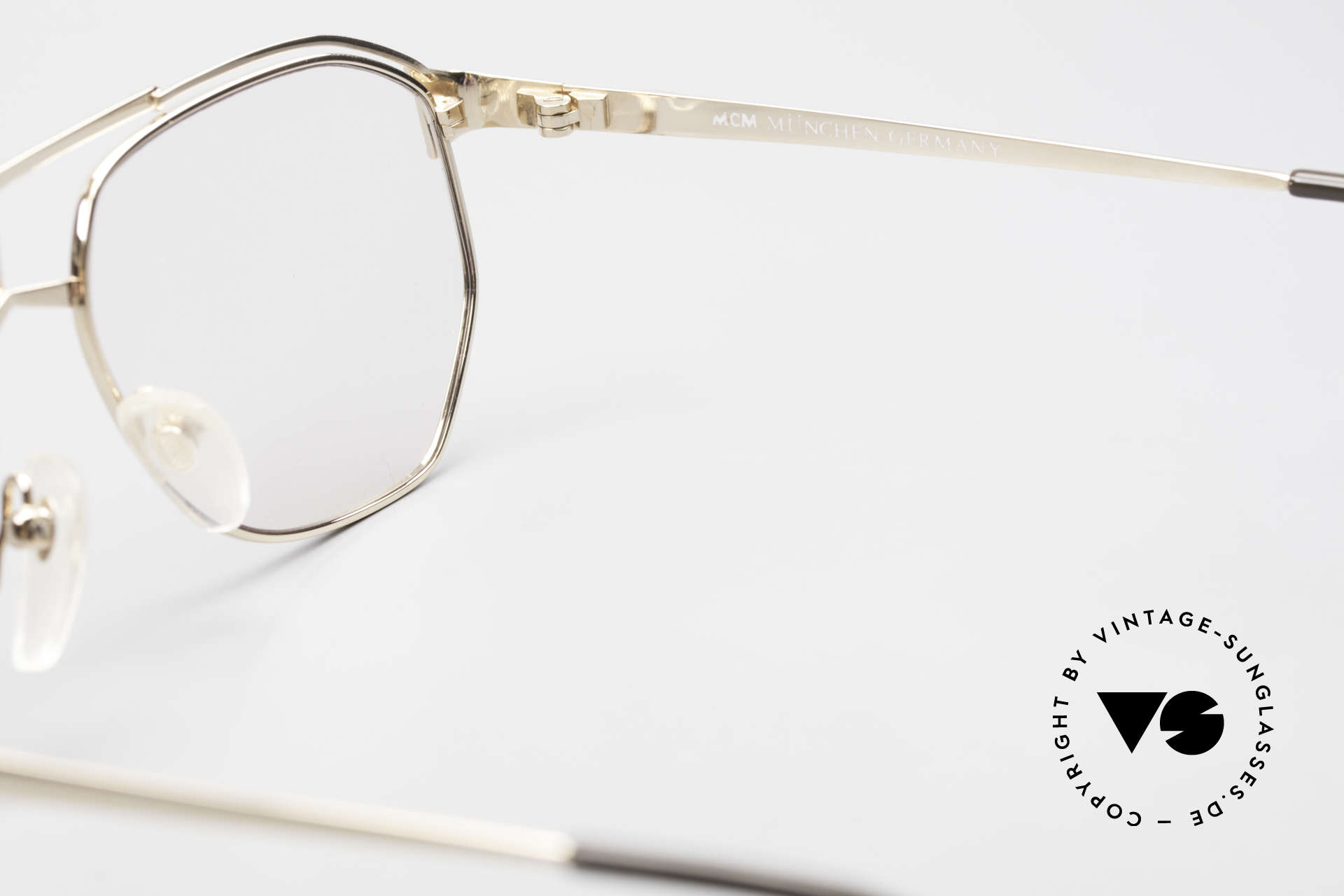 MCM München 6 XL 90's Luxury Vintage Glasses, NO RETRO FASHION, but an app. 25 years old rarity!!, Made for Men