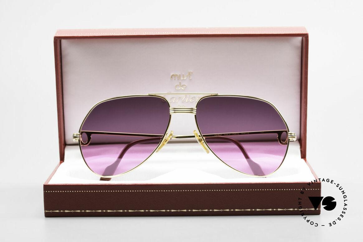 Cartier Vendome LC - M 80's Sunglasses Aviator Luxury, Size: medium, Made for Men and Women