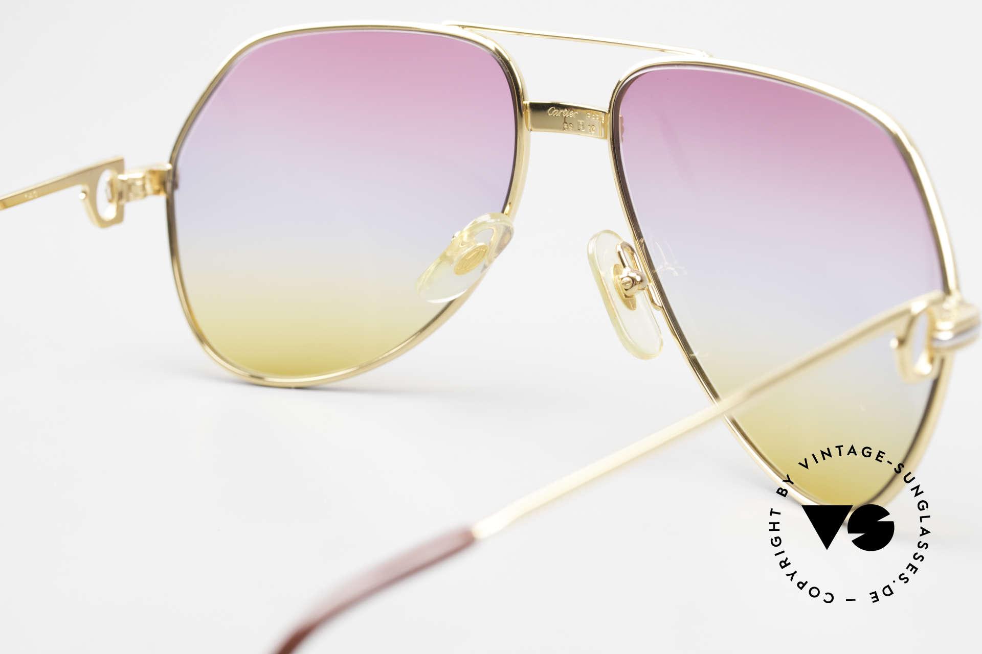 Cartier Vendome LC - M 80's 90's Aviator Sunglasses, NO retro sunglasses, but an authentic vintage ORIGINAL, Made for Men and Women