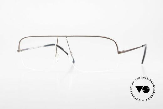 Wolfgang Proksch WP0103 New Tear Drop Titanium Frame Details