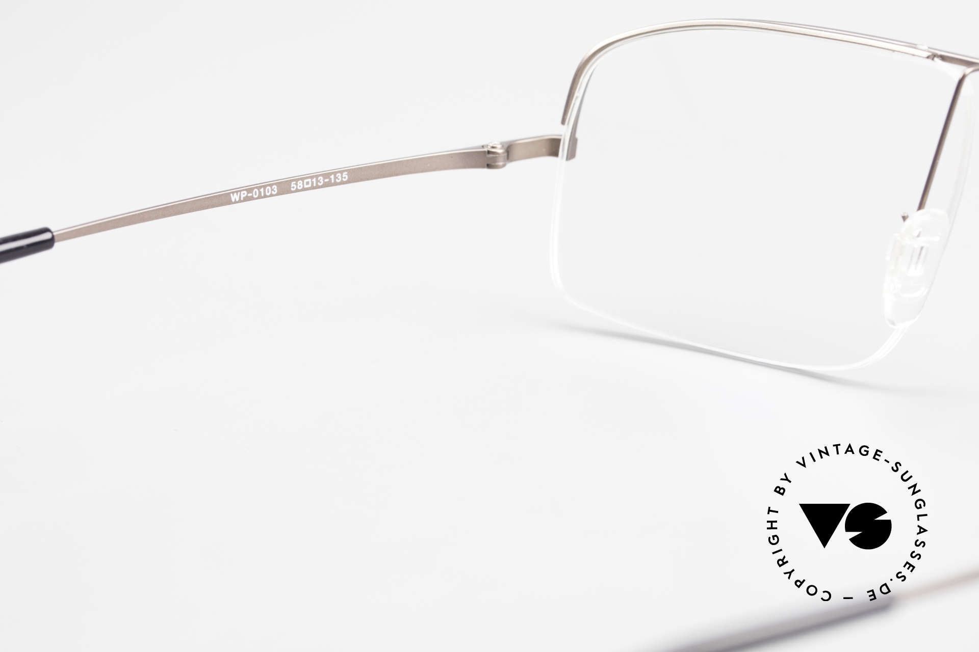 Wolfgang Proksch WP0103 New Tear Drop Titanium Frame, PROKSCH worked for Oliver Peoples, IC Berlin ..., Made for Men