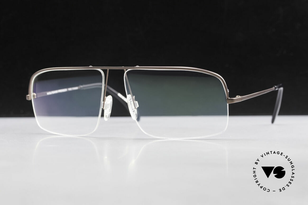 Wolfgang Proksch WP0103 New Tear Drop Titanium Frame, Size: medium, Made for Men