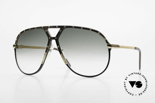 Alpina M1 80's Sunglasses West Germany Details