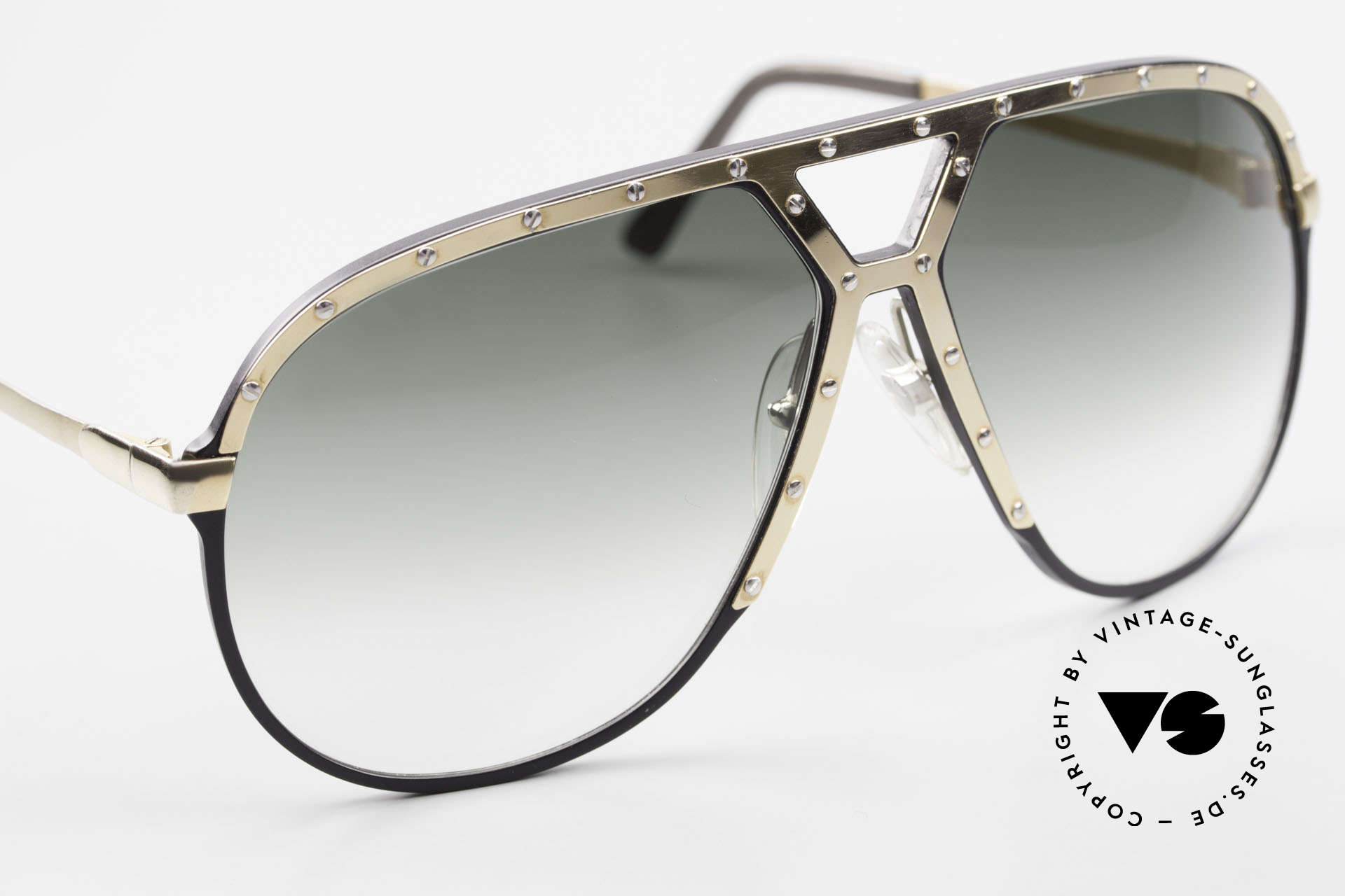 Alpina M1 80's Sunglasses West Germany, unworn collector's item comes with a Bvlgari case, Made for Men
