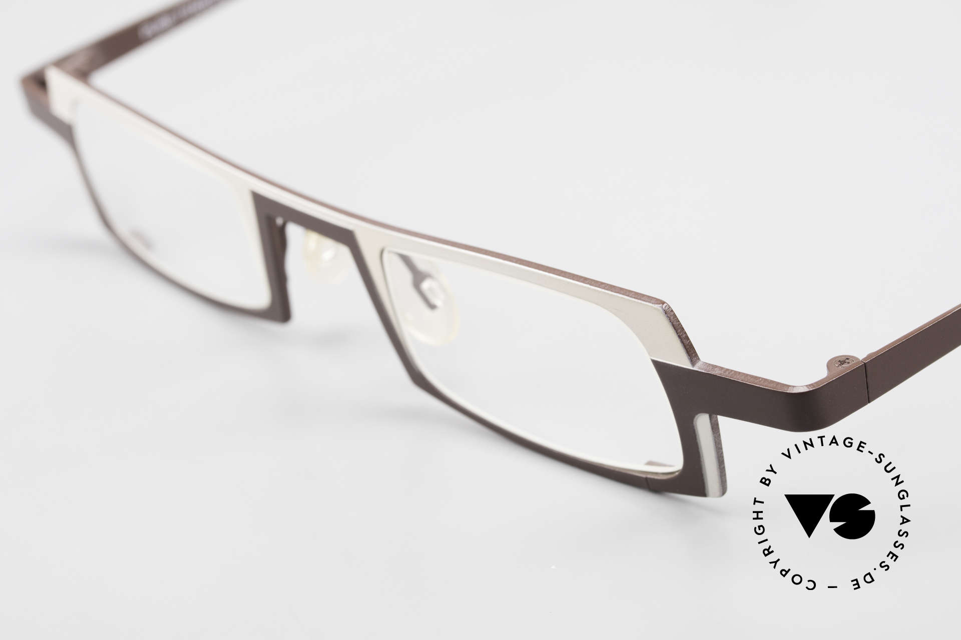 Theo Belgium Wimsey Square Men's Glasses Titanium, unworn (like all our vintage designer specs by THEO), Made for Men