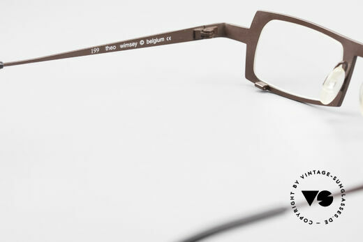 Theo Belgium Wimsey Square Men's Glasses Titanium, NO RETRO EYEWEAR, but a 20 years old Theo original, Made for Men