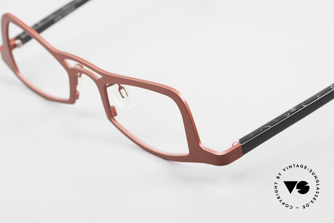 Theo Belgium Eye-Witness JK Pure Titanium Ladies Glasses, unworn, one of a kind, THEO frames for all who dare ;), Made for Women