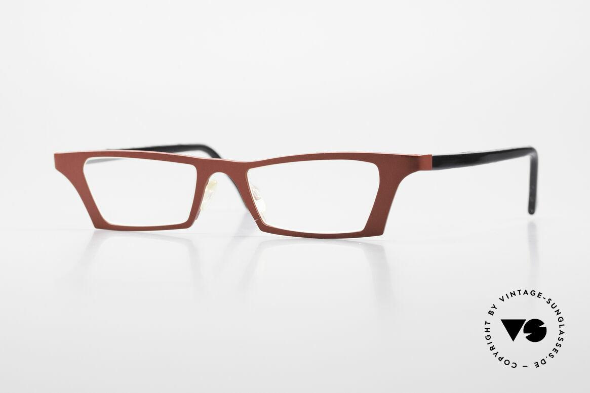 Theo Belgium Eye-Witness JJ Ladies Glasses Pure Titanium, crazy THEO Belgium Eye Witness reading eyeglasses, Made for Women