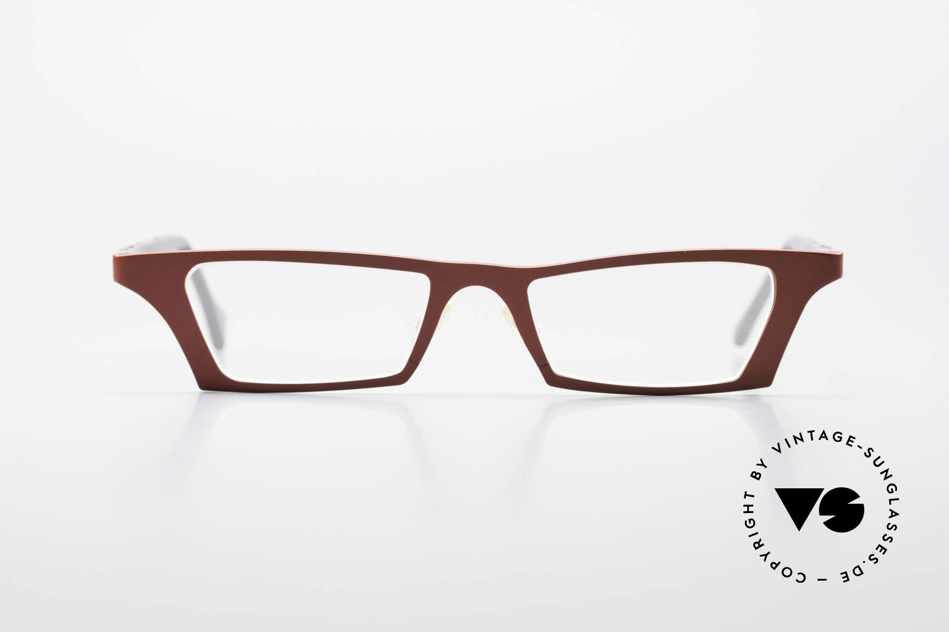 Theo Belgium Eye-Witness JJ Ladies Glasses Pure Titanium, enchanting ladies frame of the late 90's/ early 2000's, Made for Women