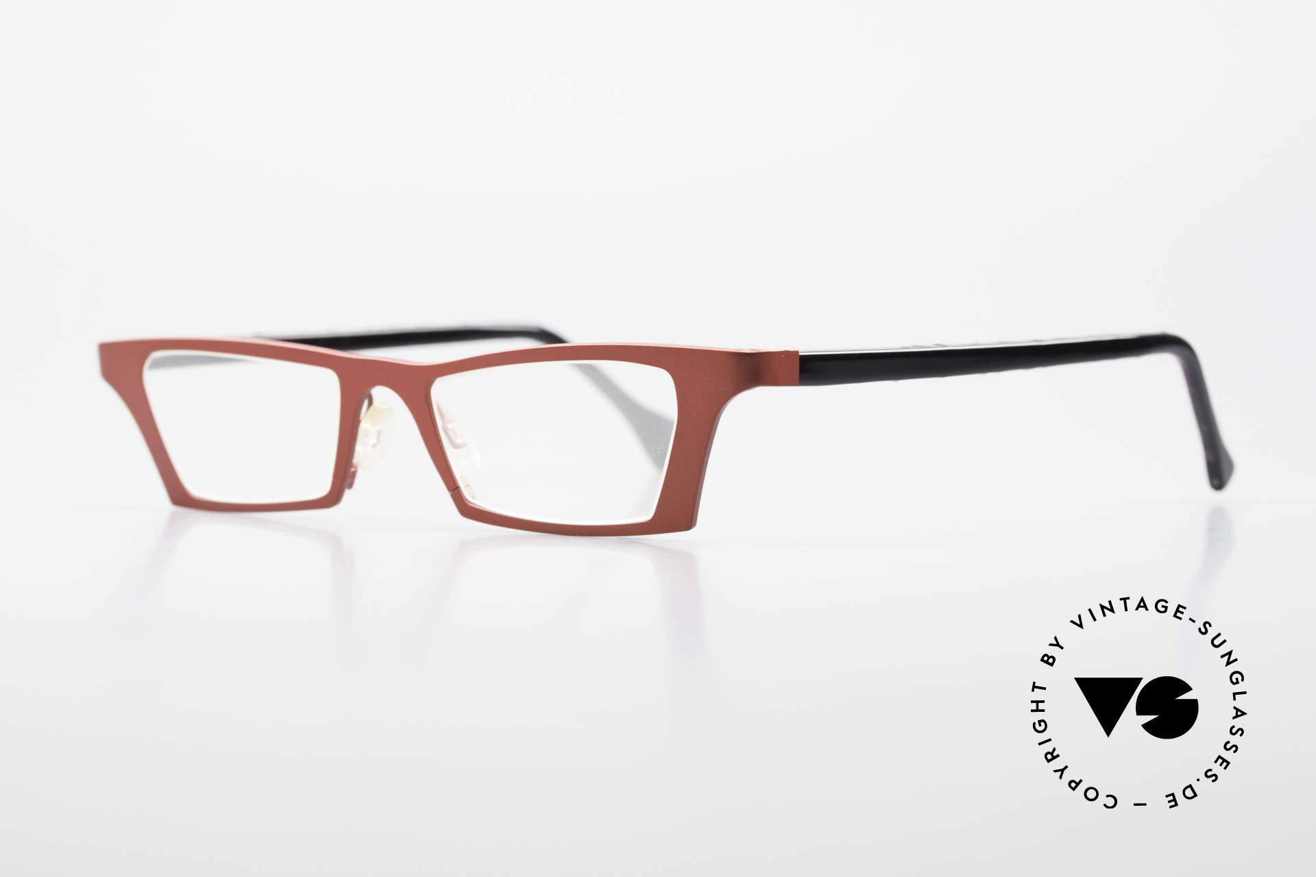 Theo Belgium Eye-Witness JJ Ladies Glasses Pure Titanium, spectacular eye-catcher in top quality (pure titanium), Made for Women