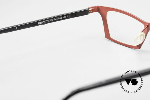 Theo Belgium Eye-Witness JJ Ladies Glasses Pure Titanium, the DEMO lenses should be replaced with optical lenses, Made for Women