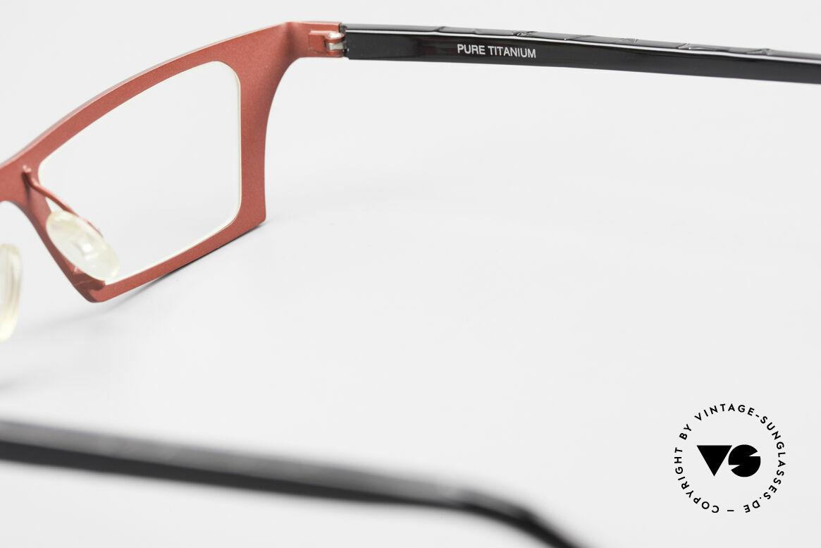 Theo Belgium Eye-Witness JJ Ladies Glasses Pure Titanium, Size: large, Made for Women