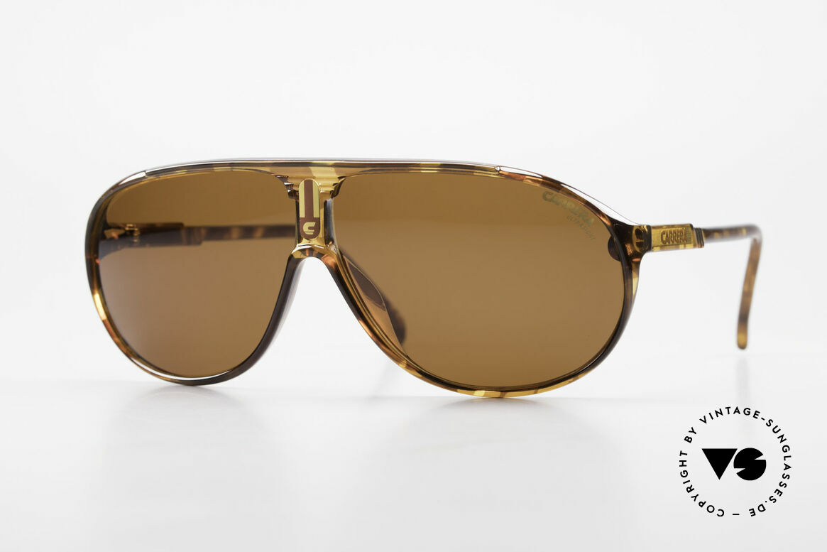 Carrera 5412 80's Frame 3 Sets Of Sun Lenses, performance sunglasses: Carrera Collection 1989/1990, Made for Men and Women