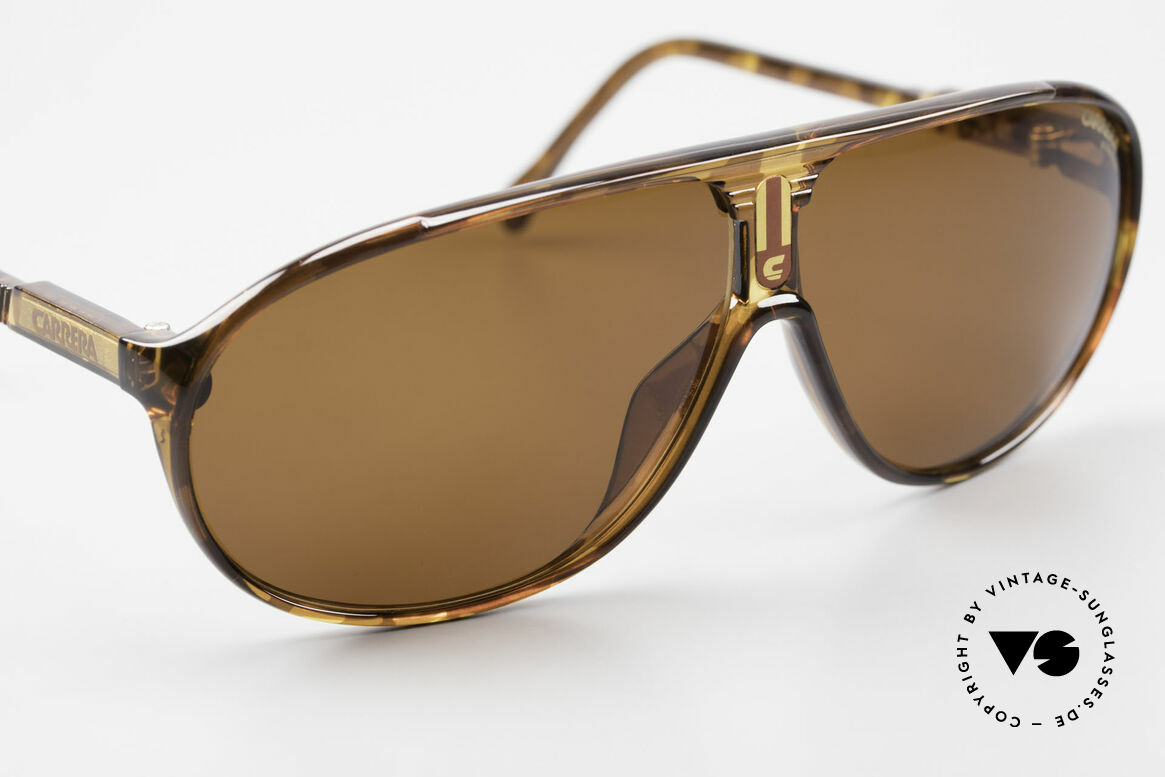 Carrera 5412 80's Frame 3 Sets Of Sun Lenses, green and brown-gradient and solid brown ULTRASIGHT, Made for Men and Women
