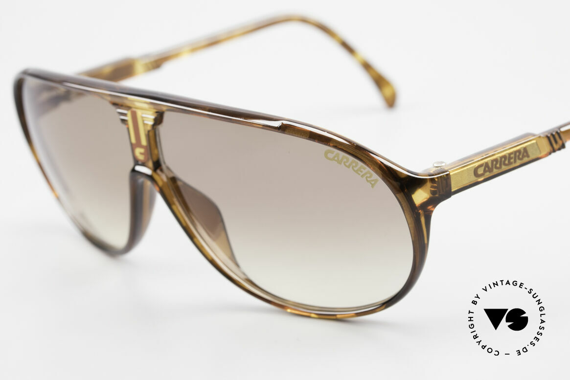Carrera 5412 Optyl Sunglasses 80's Sport, 3 sets of interchangeable lenses for different conditions, Made for Men and Women