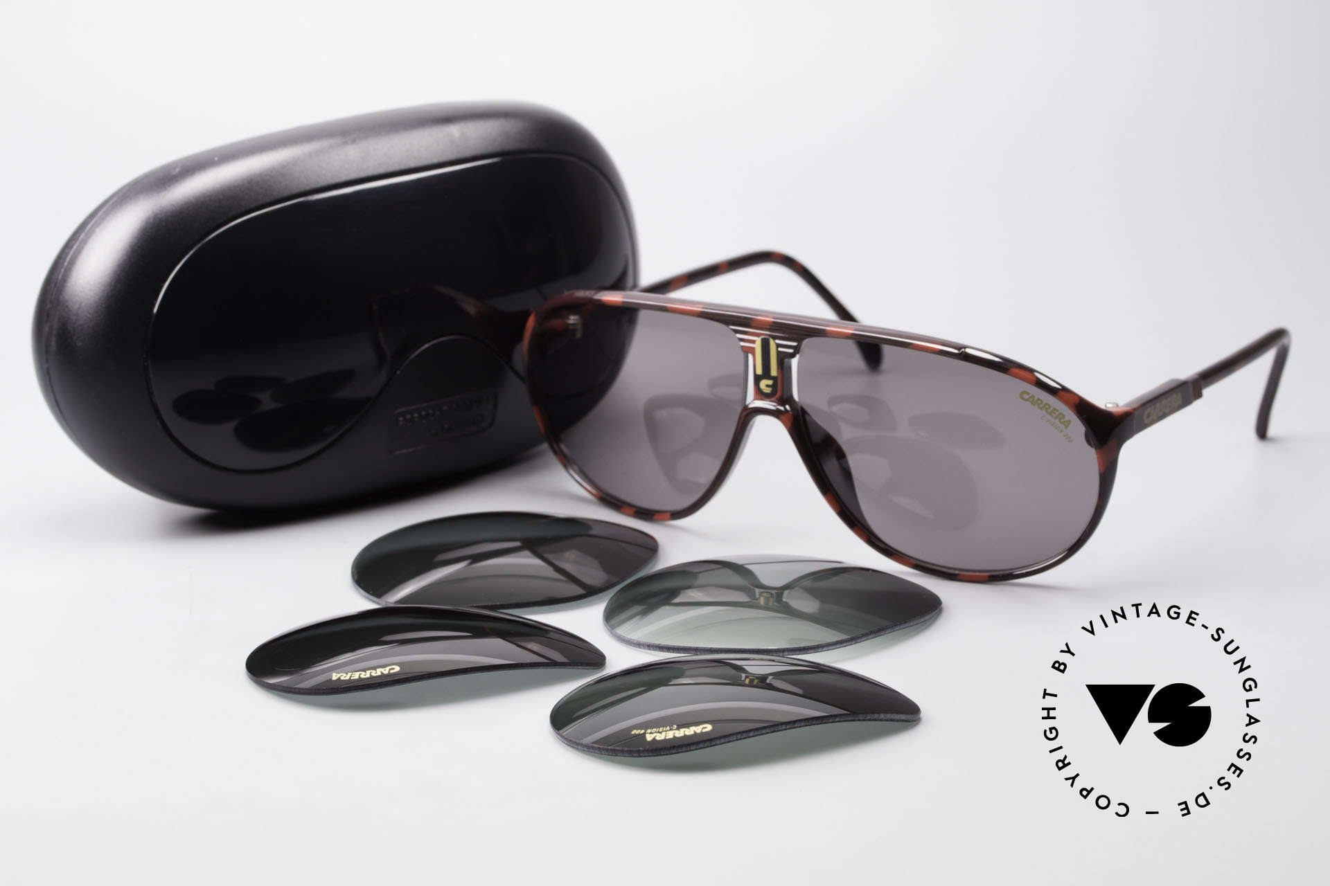 Carrera 5412 80's Sunglasses Optyl Sport, NO RETRO SHADES, but an app. 30 years old ORIGINAL!, Made for Men and Women