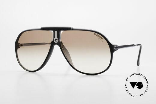 Carrera 5590 Sporty 80's Aviator Sunglasses Details