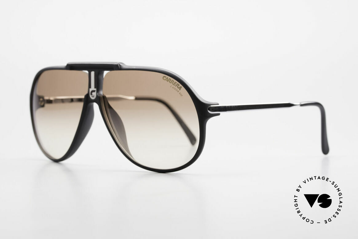 Carrera 5590 Sporty 80's Aviator Sunglasses, orig. catalog name: Model 5590 Jet, Sport Performance, Made for Men