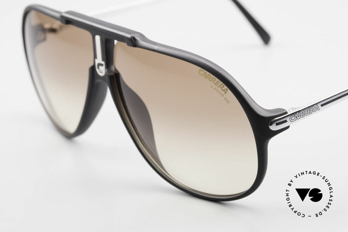 Carrera 5590 Sporty 80's Aviator Sunglasses, 3 sets of interchangeable lenses for different conditions, Made for Men
