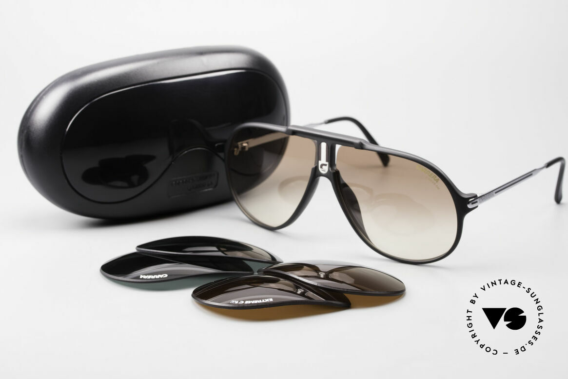 Carrera 5590 Sporty 80's Aviator Sunglasses, NO RETRO SHADES, but an app. 30 years old ORIGINAL!, Made for Men