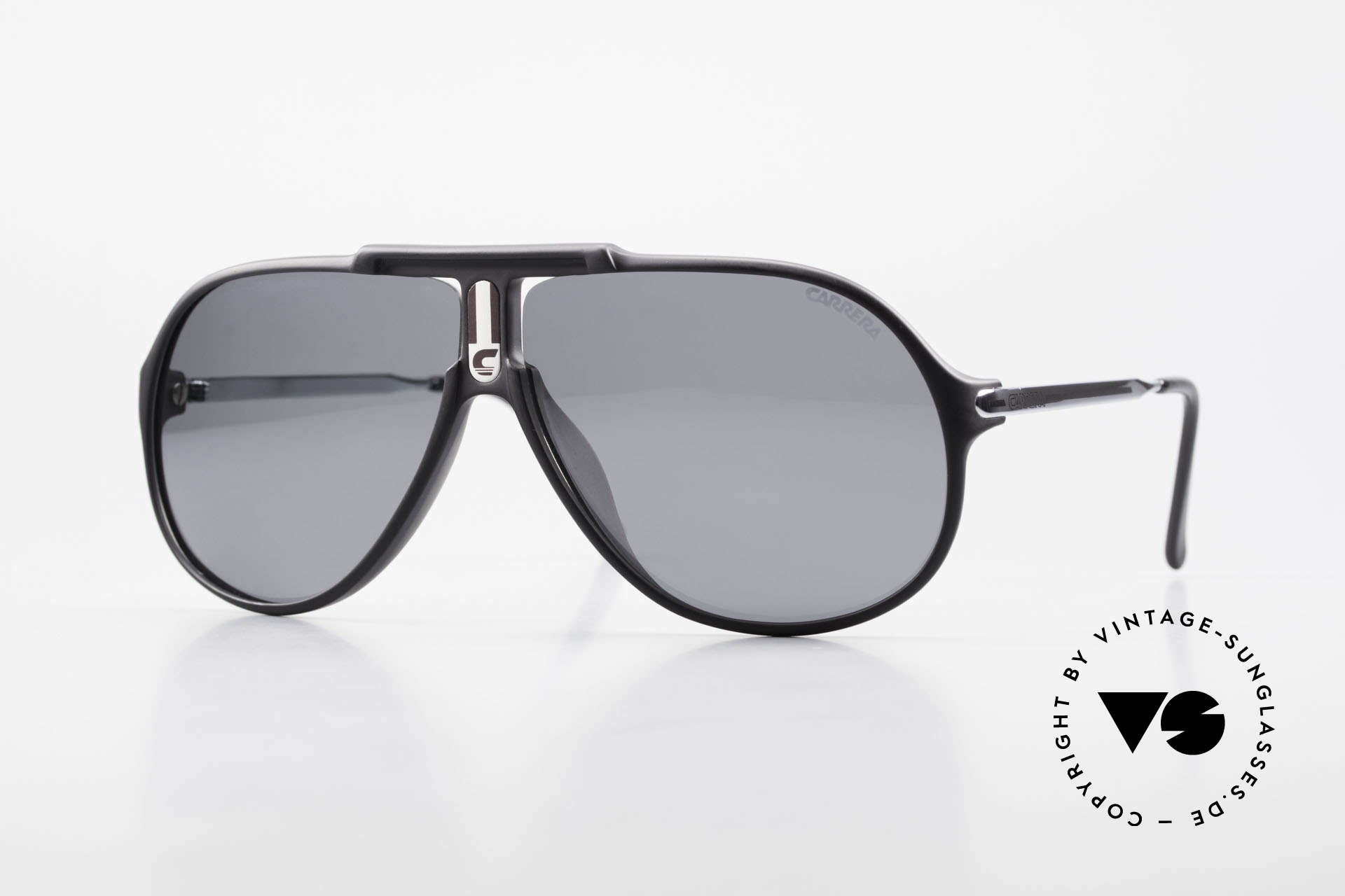 Carrera 5590 80's 90's Polarized Sunglasses, old Carrera sunglasses from the Collection 1989/1990, Made for Men