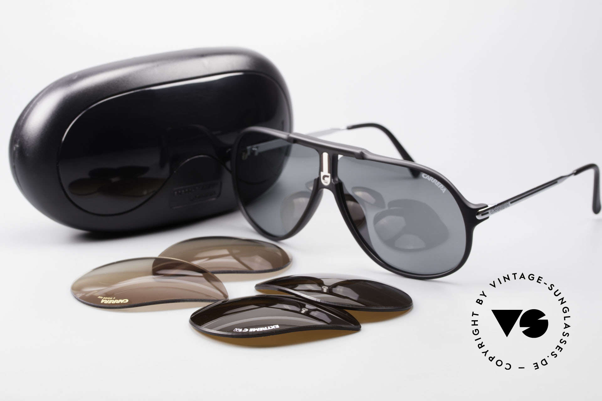 Carrera 5590 80's 90's Polarized Sunglasses, NO RETRO SHADES, but an app. 30 years old ORIGINAL!, Made for Men