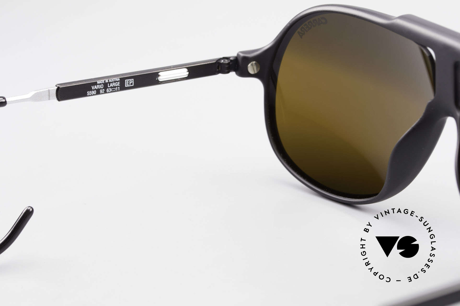 Carrera 5590 Mirrored Vario Sports Temples, NO RETRO SHADES, but an app. 30 years old ORIGINAL!, Made for Men