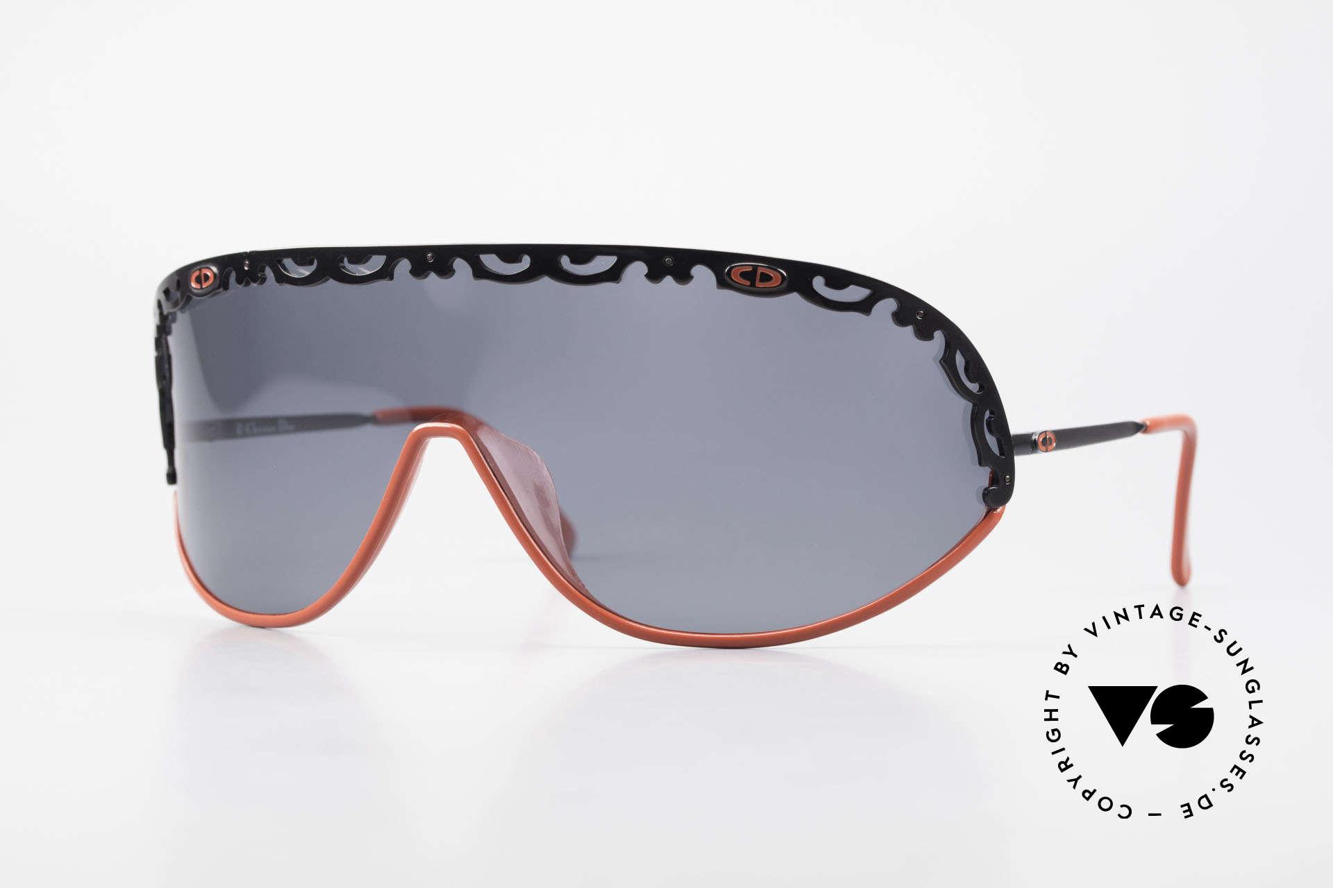 Christian Dior 2501 Polarized Sunglasses 80's 90's, orig. Christian Dior designer sunglasses from 1989/1990, Made for Women