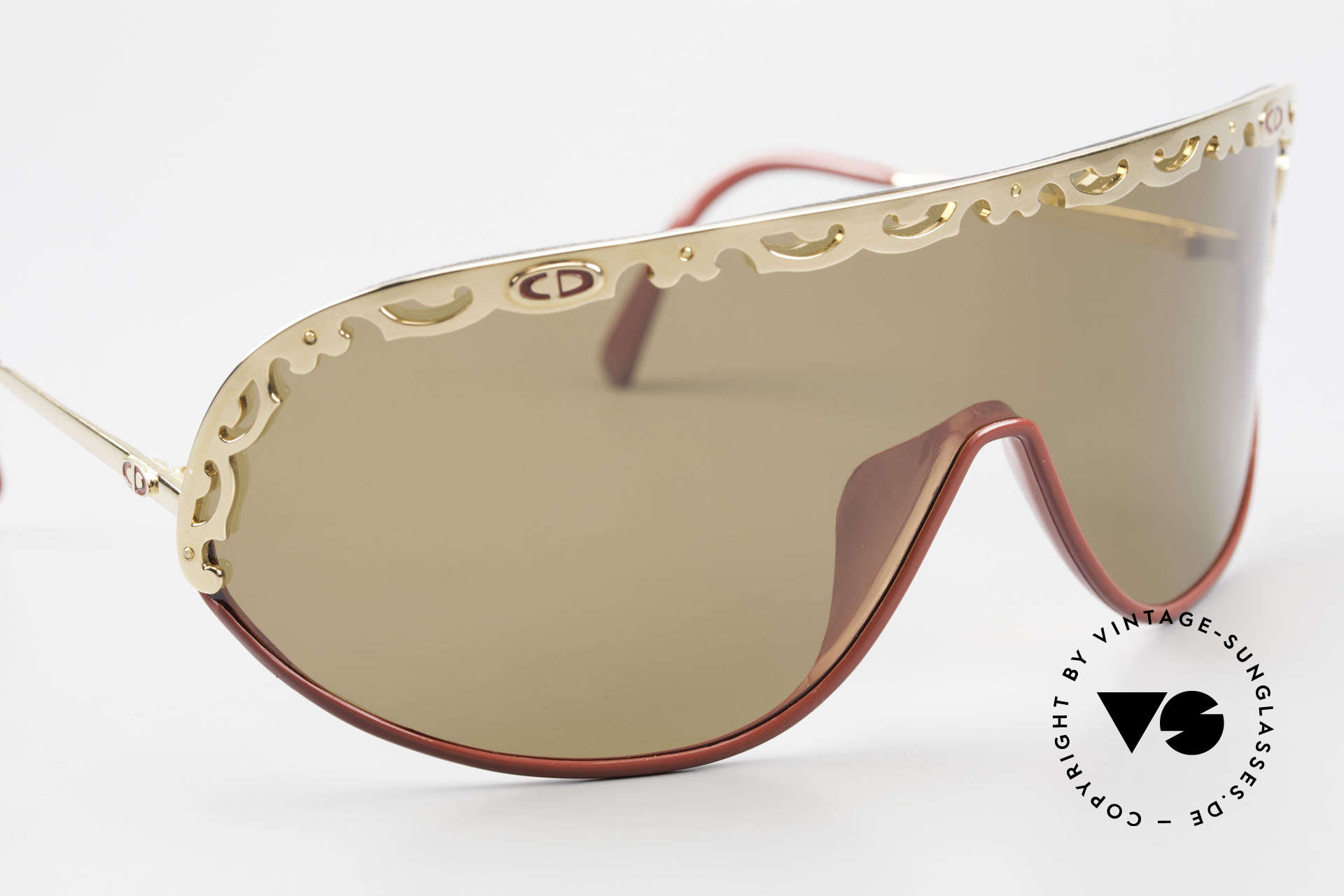 Christian Dior 2501 Panorama View Sunglasses 80's, new old stock (like all our 80's / 90's C. Dior originals), Made for Women