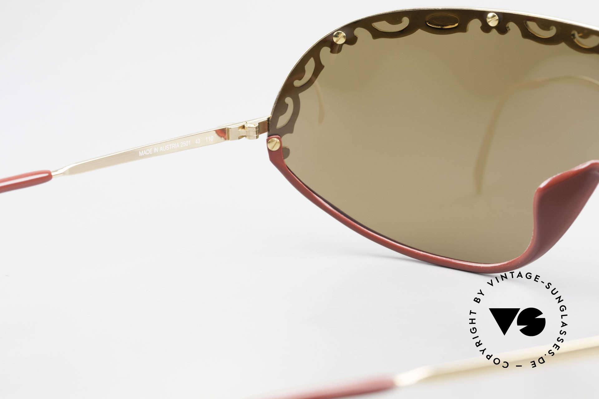 Christian Dior 2501 Panorama View Sunglasses 80's, NO RETRO sunglasses, but a 30 years old vintage rarity, Made for Women