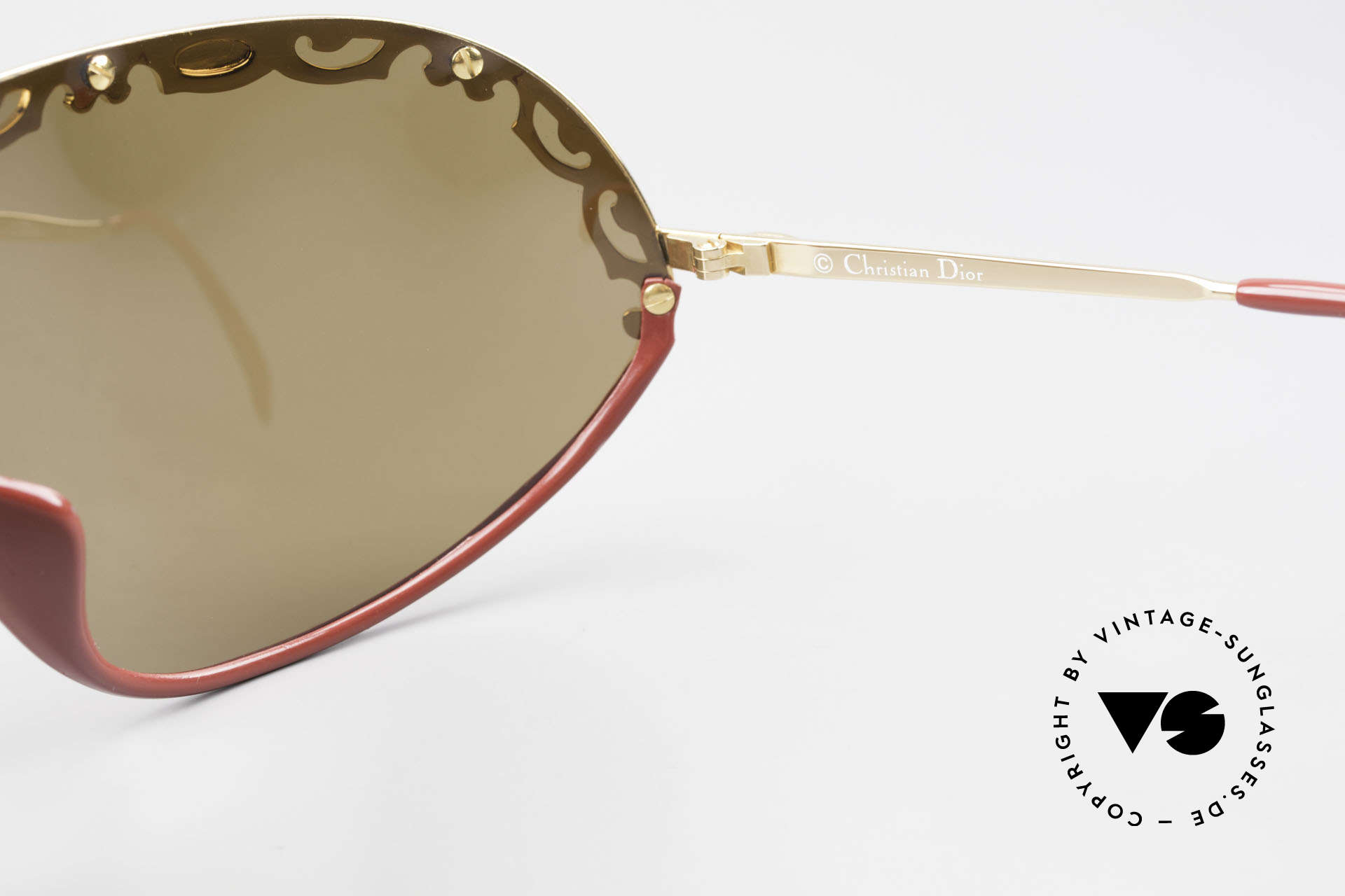 Christian Dior 2501 Panorama View Sunglasses 80's, Size: extra large, Made for Women