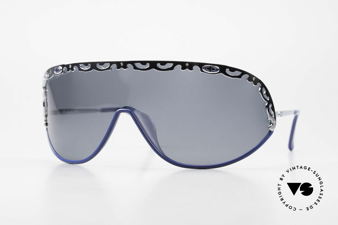 Christian Dior 2501 Panorama View Shades 80s 90s, Dior designer sunglasses from 1989/90, panorama view, Made for Women